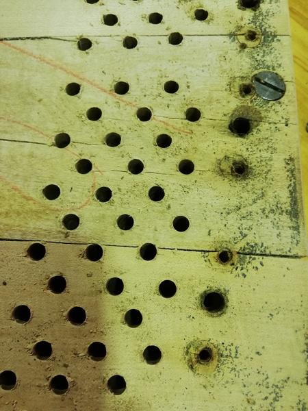 ピン板の交換1