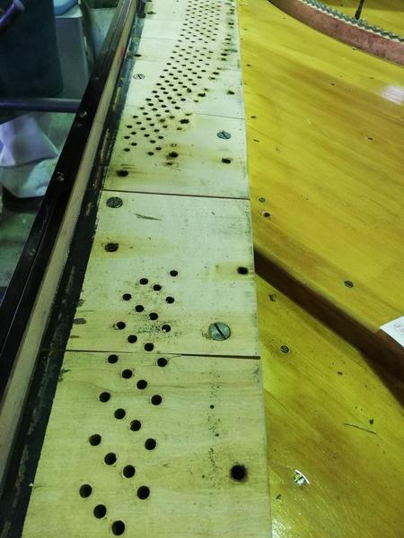 ピン板の交換2